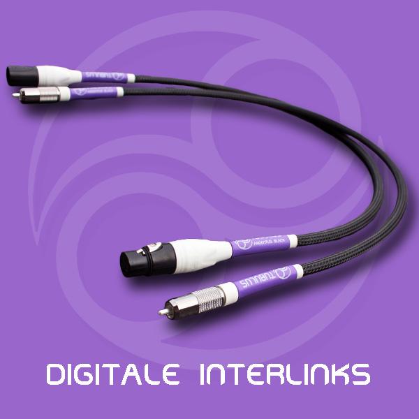 Tubulus Digitale Interlinks high end audio kabels