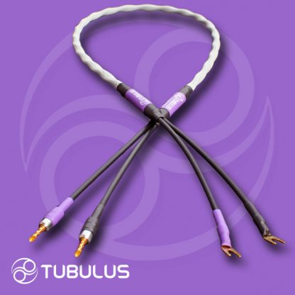 speaker cable tubulus libentus best high end audio loudspeaker spade banana plug air hifi luidspreker kabel zilver vork banaan
