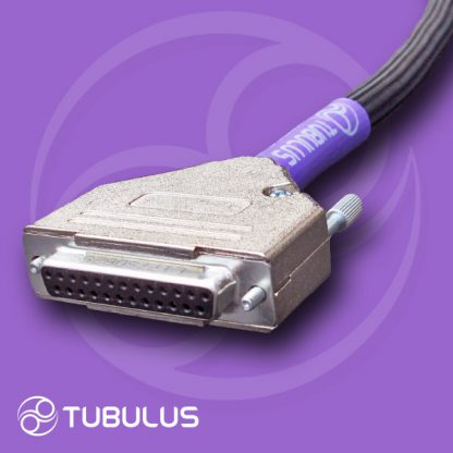 2 Tubulus Argentus DB-25 cable Pass Labs XP-20 XP-30 XP-25 phono power DB25 XP20 XP30 XP25 XP line series high end audio preamp hifi dsub umbilical cable
