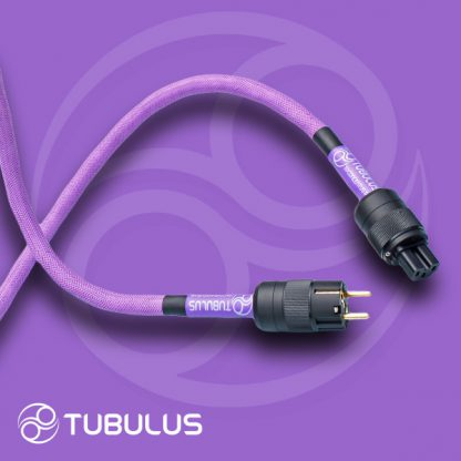 2 TUBULUS Concentus power cable with skin effect filtering schuko us uk plug
