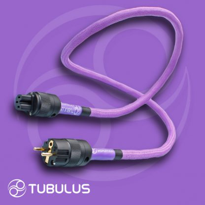 4 TUBULUS Concentus power cable with skin effect filtering schuko us uk plug