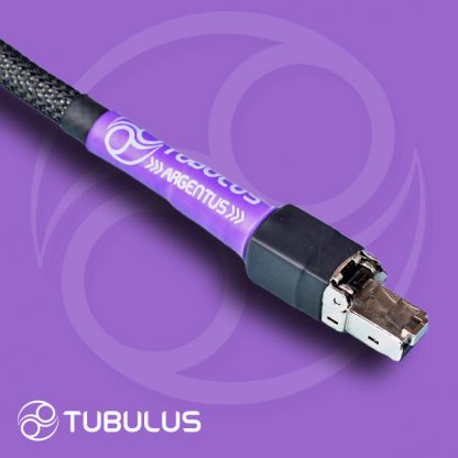 6 Tubulus Argentus i2s cable high end audio rj45 cat7 ethernet network cable silver hifi length