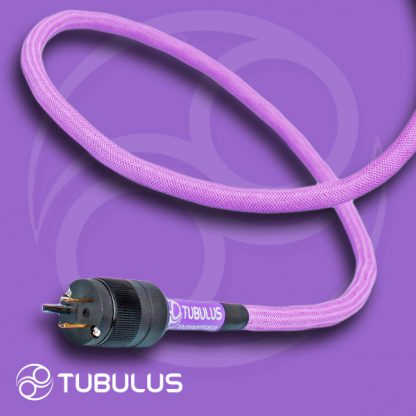 10 TUBULUS Concentus power cable high end skin effect filtering schuko us uk plug hifi